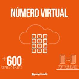 Número Virtual Adicional ou Portabilidade , Atendemos em mais de 600 cidades
