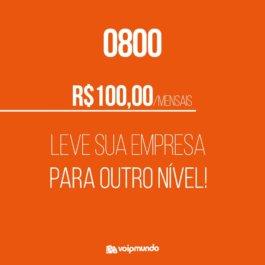0800 no PABX